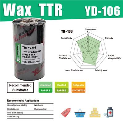 YD-106  Standard WAX TTR